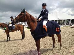 Mitchel Sonneveld was 1st and 3rd at 1.10m level - 13 mei 2013